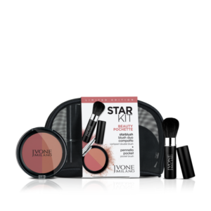Star Kit -Make-up bag with pressed blush duo and pocket brush